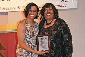 Dr Charlae Davis and Jacque Eatmon Founders Award
