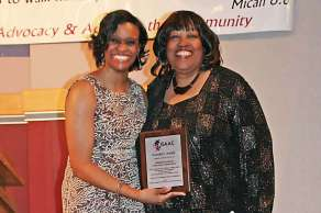 Dr Charlae Davis and Jacque Eatmon Founders Award