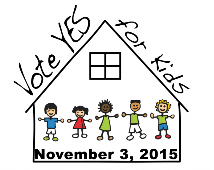 Vote YES for Kids logo