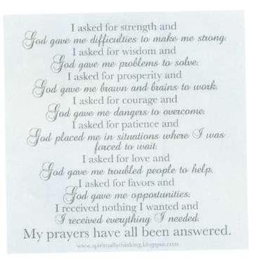 prayer 20001