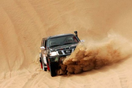 Off Road Driving In Abu Dhabi
