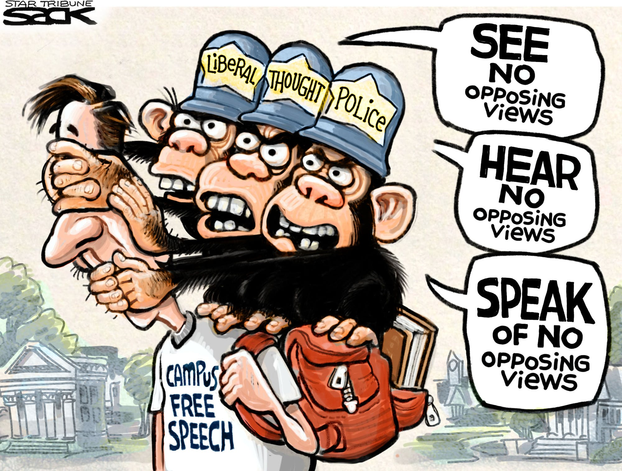 Please Go Elsewhere If You Are Triggered By Free Speech The Free Exchange Of Ideas Or People Who Express And Defend Ideas Or Opinions That Differ From