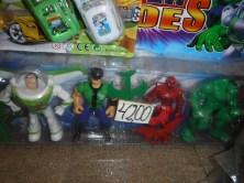 Buzz Lightyear, Ben Ten, Spiderman, what a team!
