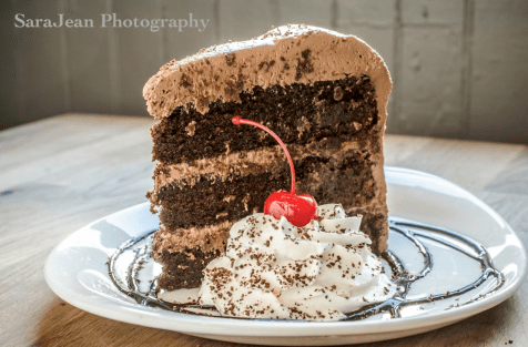 Everyone loves our chocolate cake