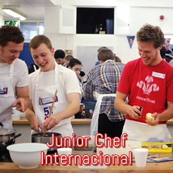 junior chef internacional