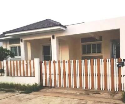 A modern house in Buriram city