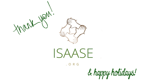 Thank you from ISAASE