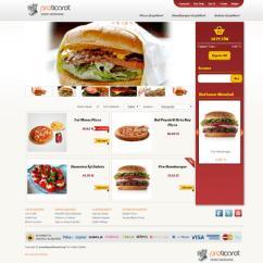ucretsiz-e-ticaret-scripti-yemek-temasi