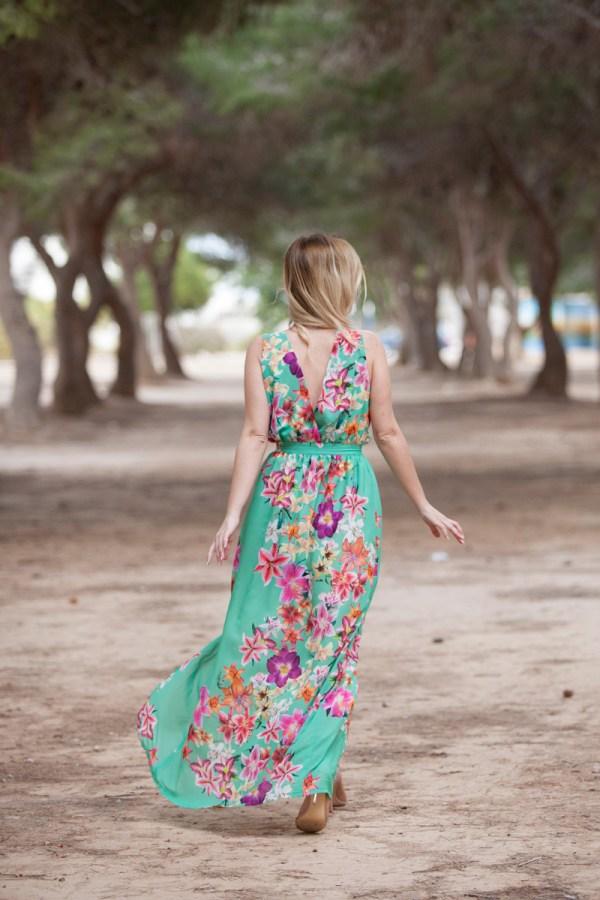 Vestido Oceana