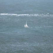 Yacht on Solent waters