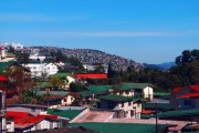 rooftops in Baguio City, Philippines