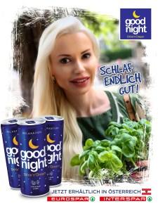 Isabella Mueller @isabella_muenchen Good Night Drink, Eurospar, Interspar, Österreich