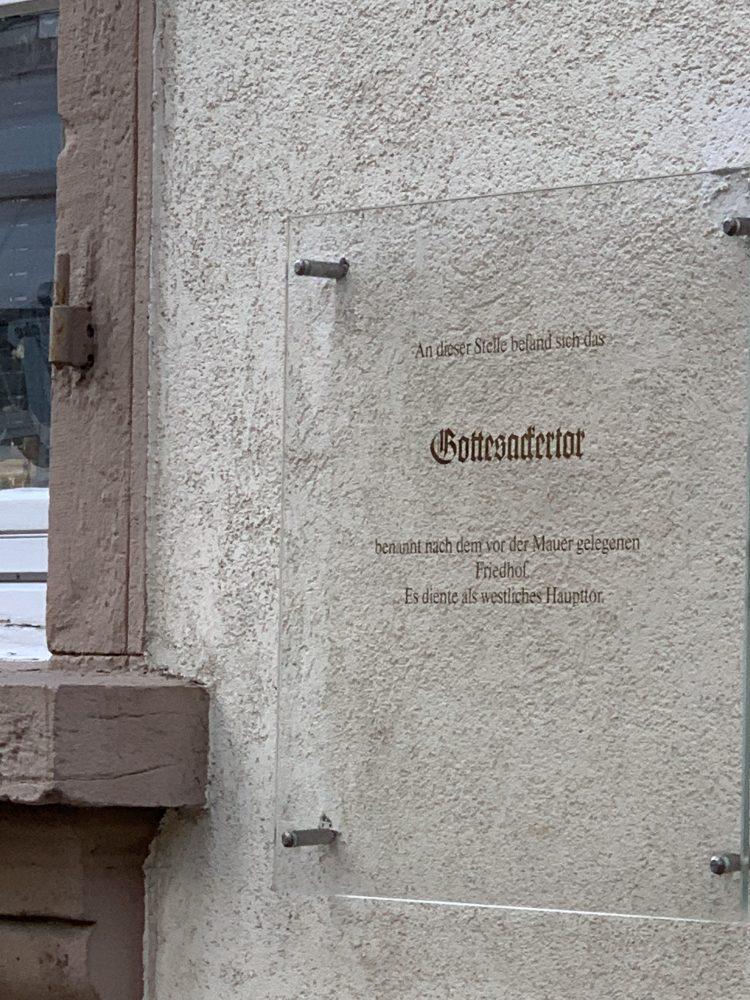 Gottesackertor . Bretten . Stadttore . Stadtmauer . Melanchthonstadt . IsabellaMueller . @Isabella_Muenchen .