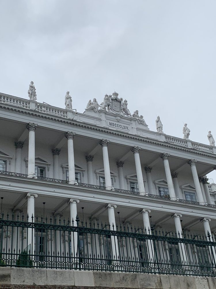 Palais Coburg . Braunbastei . Wien . Innenstadt . IsabellaMueller . @Isabella_Muenchen .