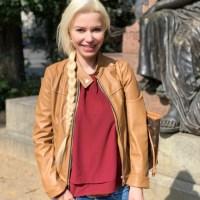 Das lang erkämpfte Mendelssohn-Denkmal vis á vis der Thomaskirche in Leipzig