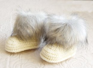 Inese Fur baby boots