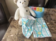 IsabellasWhimsy Scandi Baby bib burp set