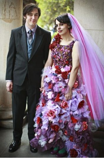 Wedding-Dress-made-from-Flowers-rocker-wedding1