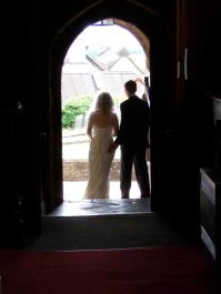 The other side of the wedding