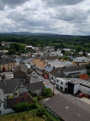 View from our church tower