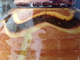 Glaze on Clive Bowen bowl
