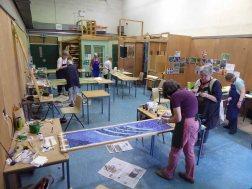 Our workroom at Moreton Morrell