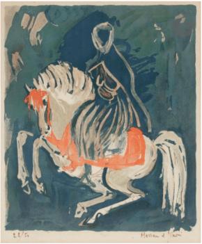 Hassan EL GLAOUI  Horseman Ader