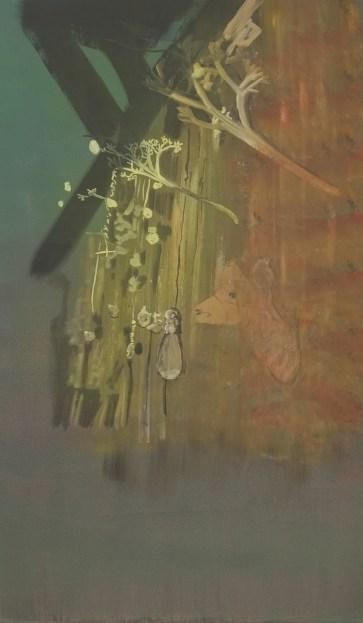 """""""Carrelage"""" acrylique sur toile, 2013, 107x63 cm"""