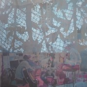 """""""Différence, acrylique sur toile, 130x130, 2014*"""
