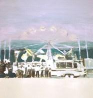 """""""Allô"""" acrylique sur toile, 41x31cm, 2011"""