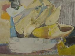 """""""Cachalot""""2013, acrylique sur toile, 72x95"""