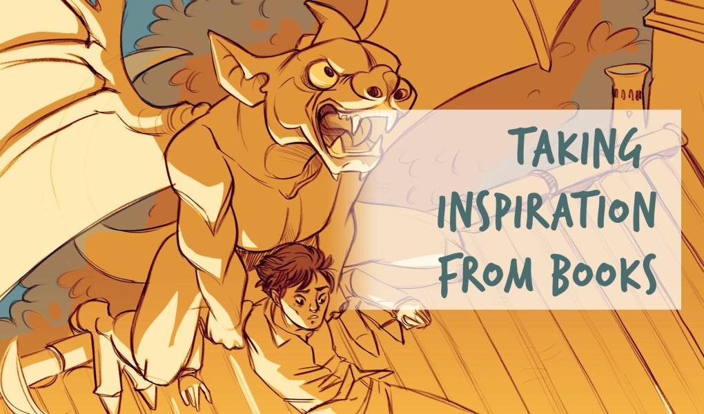 Finding inspiration in books for illustration