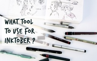 what tools for inktober