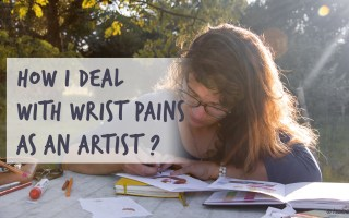 how to deal with wrist pains as an artist