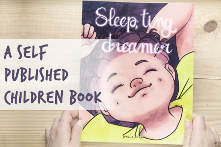 Sleep tiny dreamer self published children book