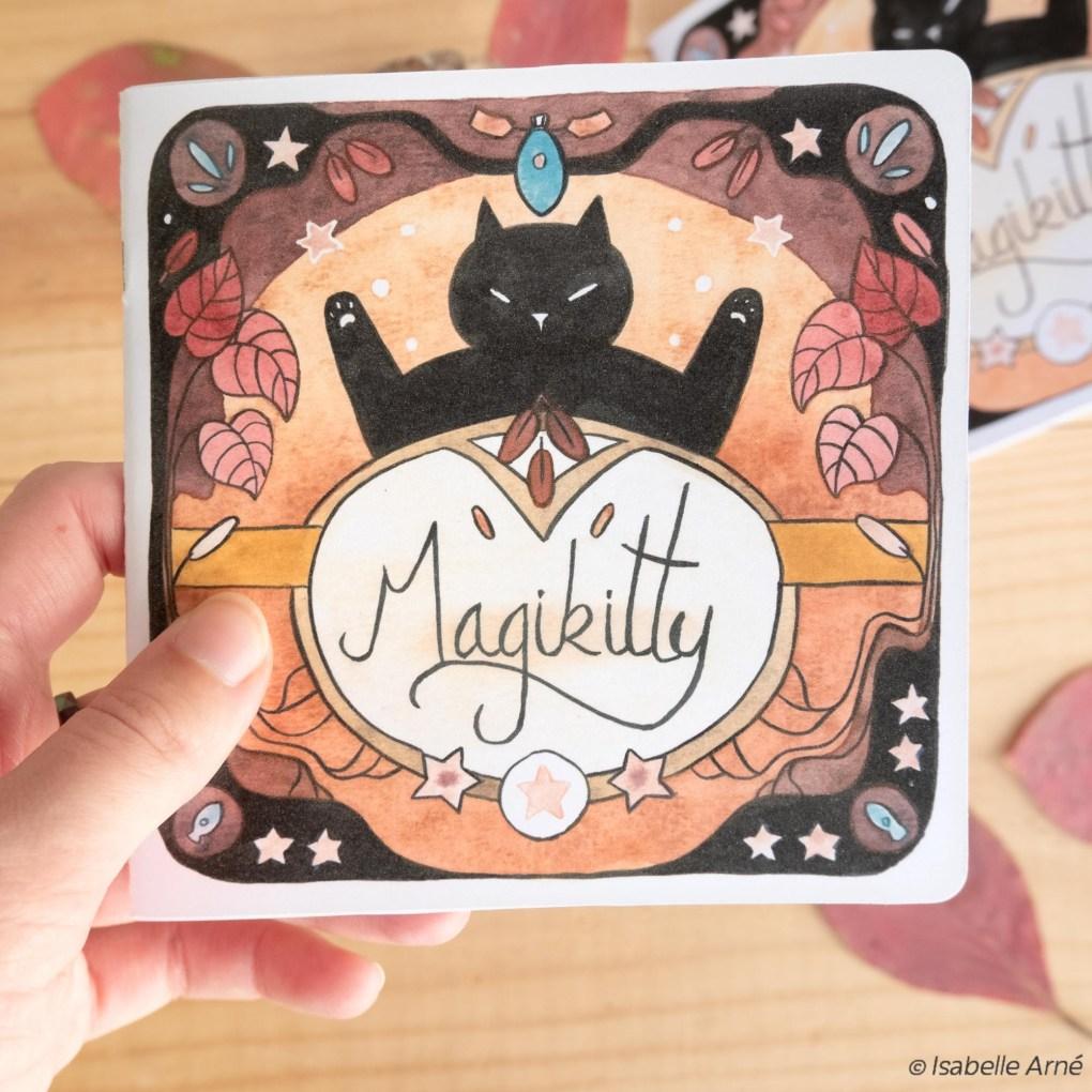 magikitty fanzine cat wizard witches magic