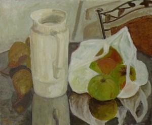 """oil on canvas """"dans la cuisine"""""""