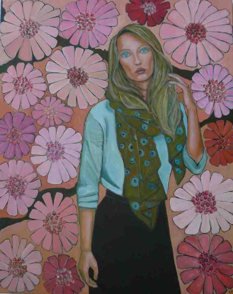 """oil on canvas """"étude 2"""""""