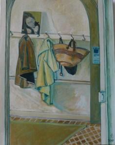 """oil on canvas """"l'entrée de Ker Léon"""""""