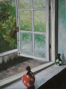 """oil on canvas """"fenêtre ouverte au Brésil"""""""