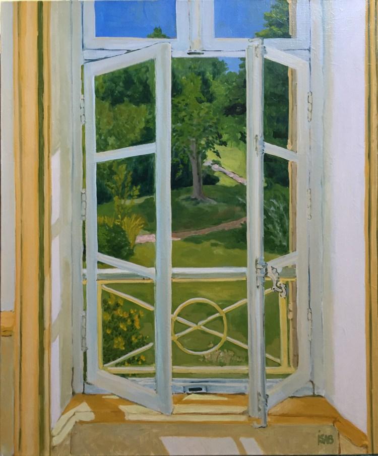 peinture à l'huile, Isabelle Barrandon