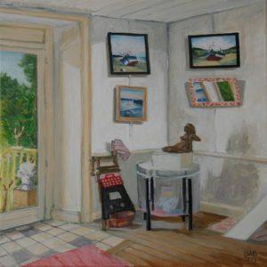 dans l'atelier, oil painting