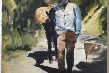 mon premier tableau, l'homme qui marche