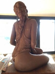 premier modelage, première sculpture en argile