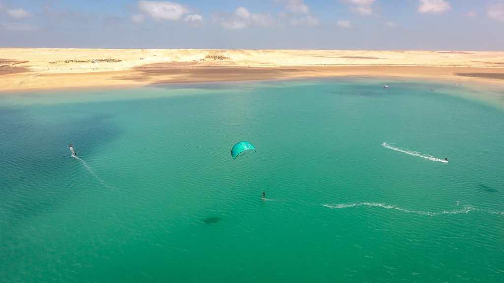 lagune kitesurf dakhla maroc