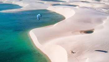 lencois kitesurf brésil