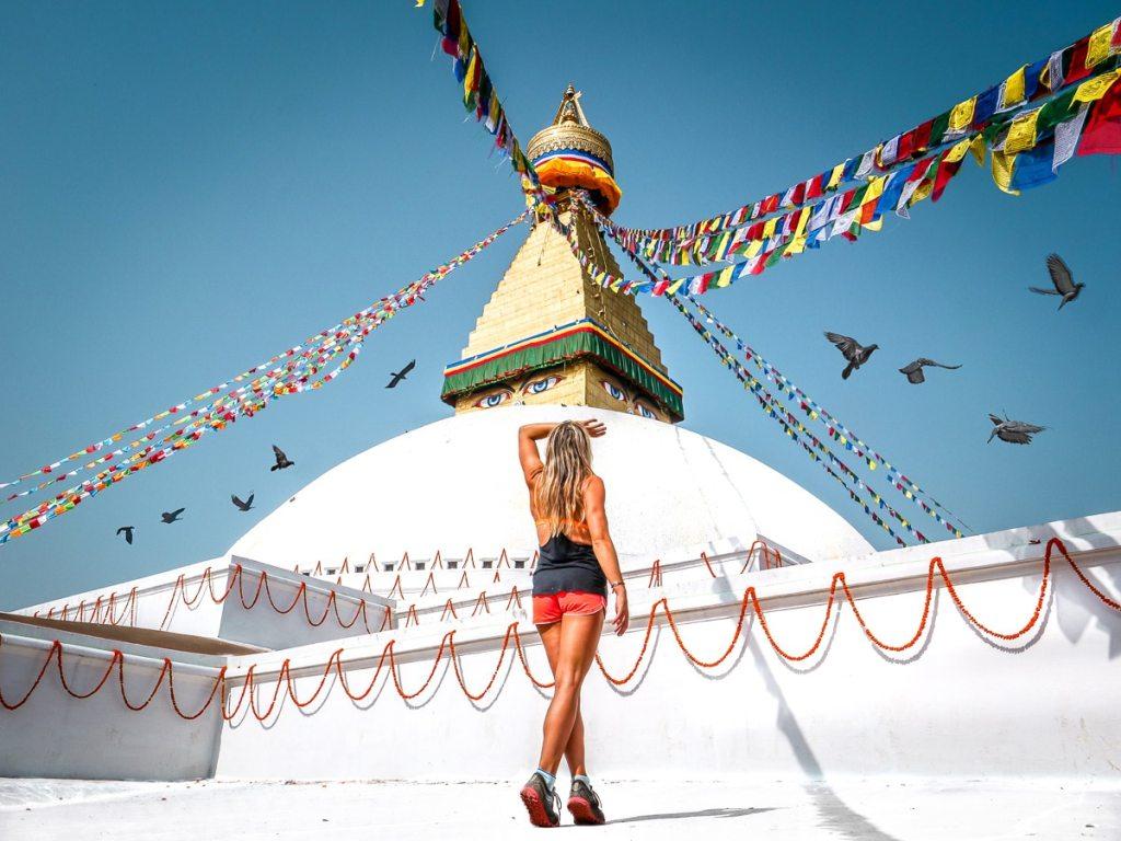 Bodnath stupa Katmandu