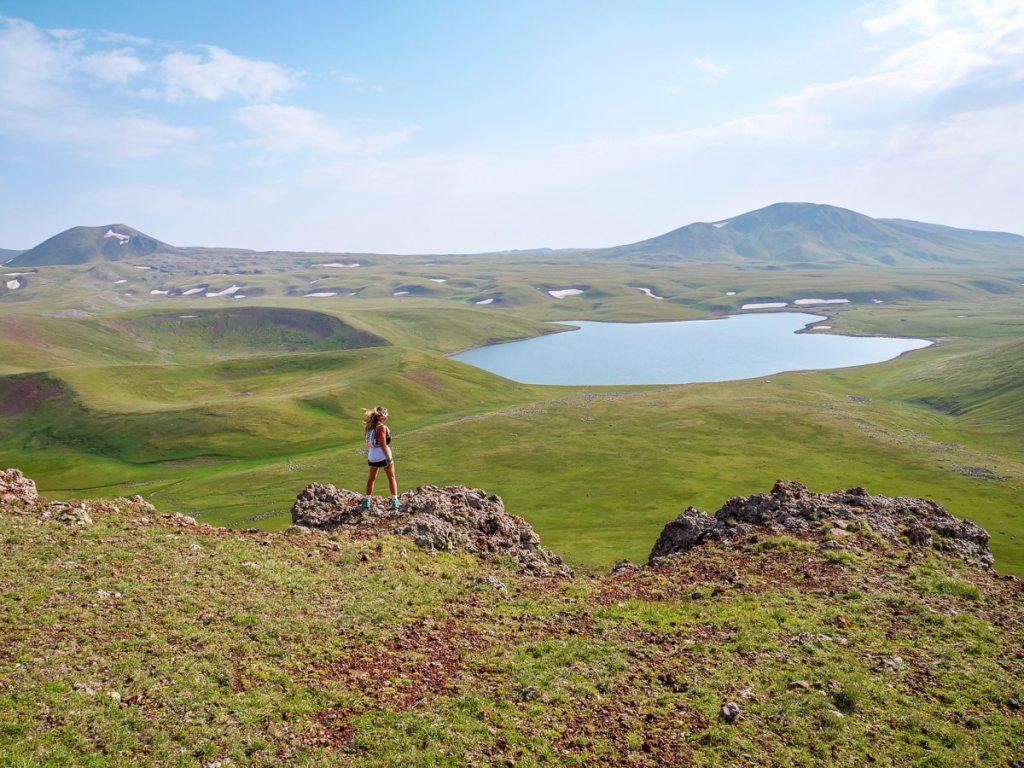 massif de gegham lac akna Arménie