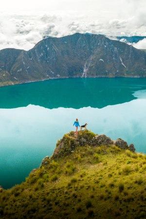 Quilotoa Equateur randonnée