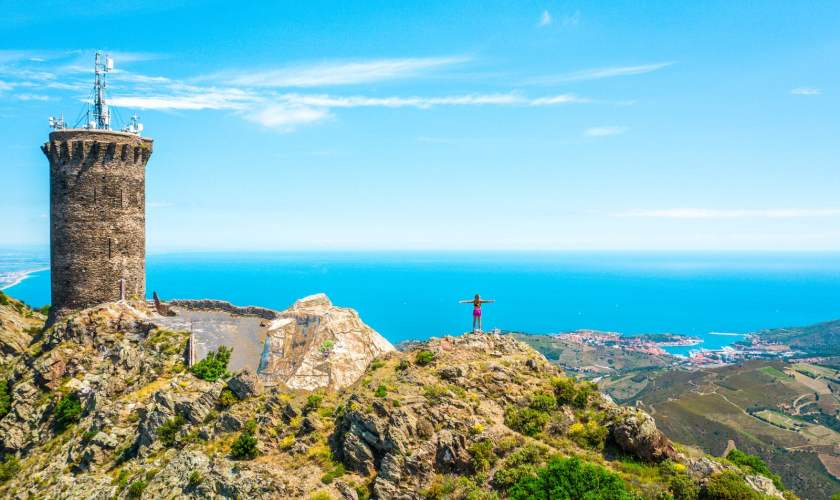Argelès sur mer Trail tour madeloc